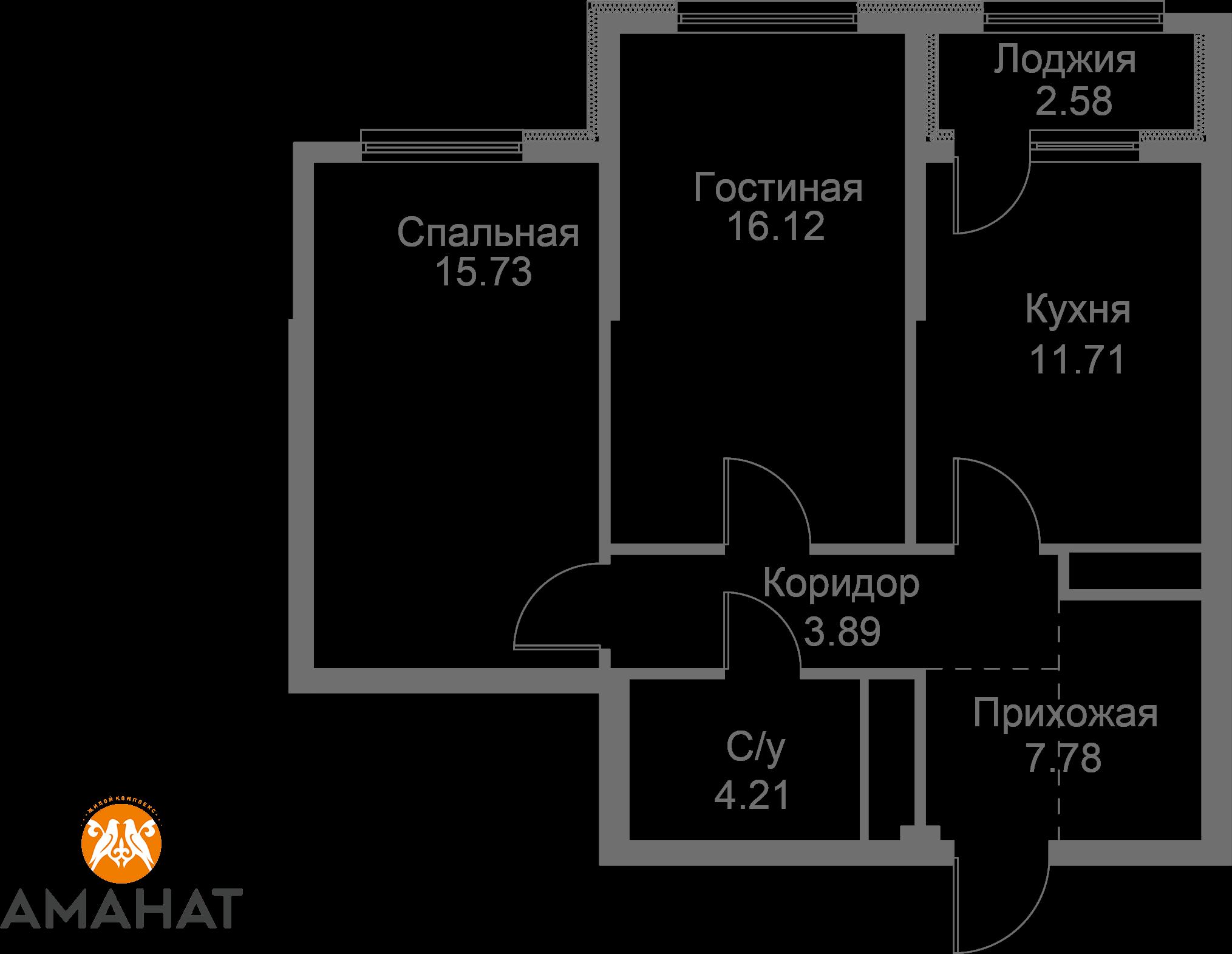 Квартира 304