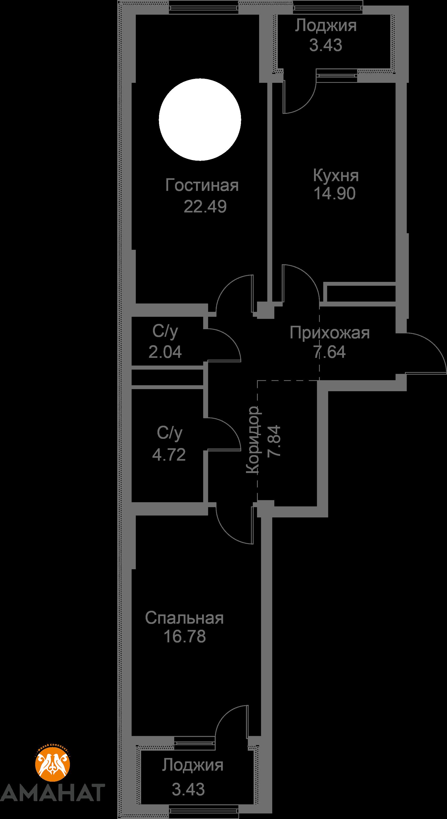 Квартира 344